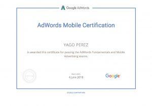 Google AdWords Mobile Certification