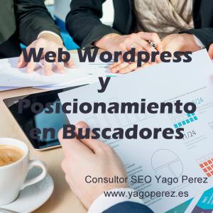 Web WordPress y Posicionamiento en Buscadores