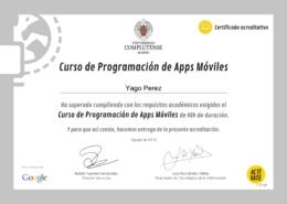 Programación Apps móviles